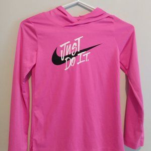 Kids pink Nike dry fit size small.